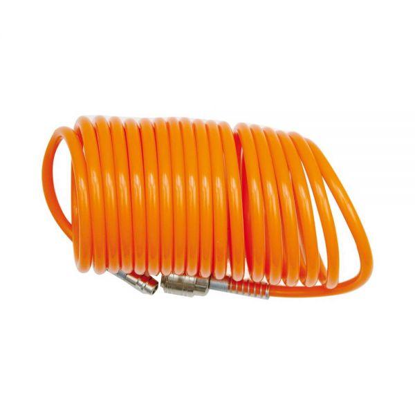 Spiralschlauch mit Schnellkupplung