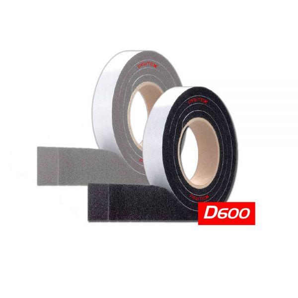 Kompriband D600 20/3-7 mm 8 m Schwarz Dichtband Quellband Fugendichtband BG1