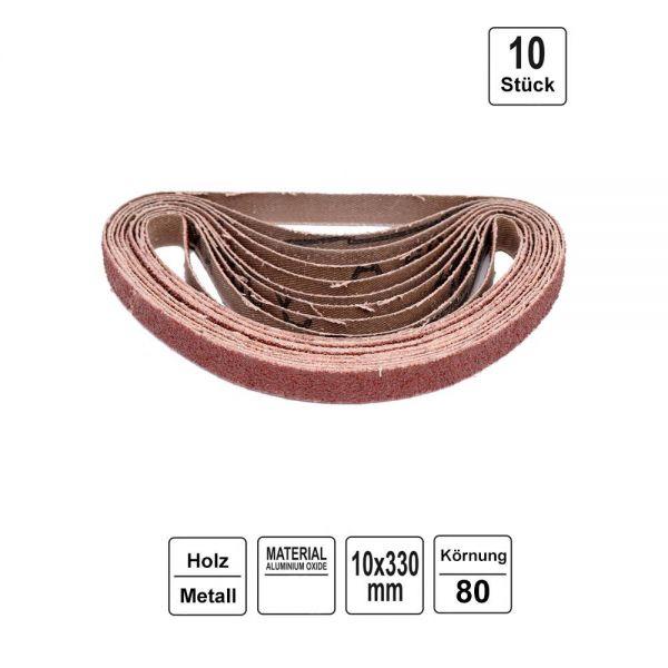 Schleifbänder für Druckluft