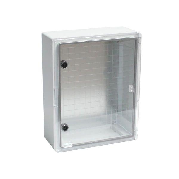 Kunststoff Schaltschrank 400 x 500 x 245 mm IP65 mit Sichttür