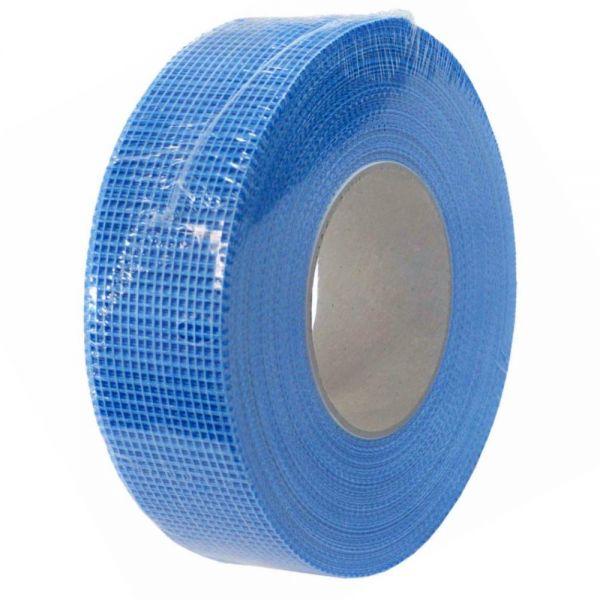 Gitterband 12 Rollen 48 mm x 90 m selbstklebend Glasfaserband