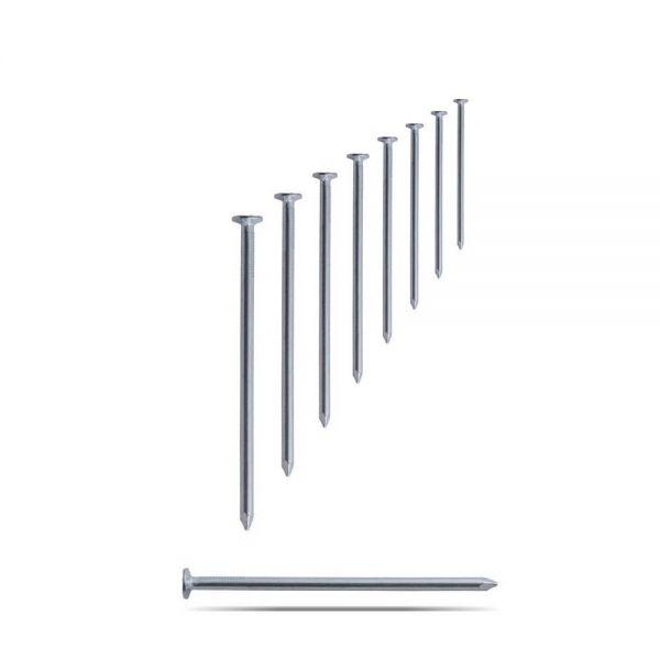 Drahtstifte verzinkt 1 kg Nägel aus Stahldraht Senkkopf div. Größen ...