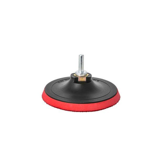 Klettteller 125mm Polierscheibe Klettschleifteller für Winkelschleifer + Adapter