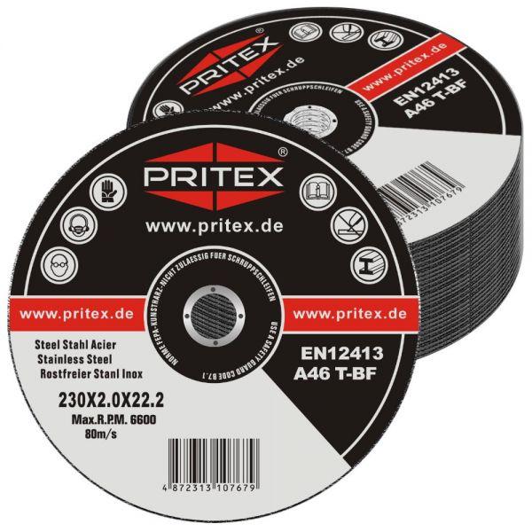 Trennscheiben Inox 230 x 2 mm 100 Stück für Edelstahl und Metall