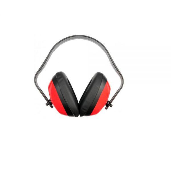 Gehörschutz rot 1 x Hörschutz Ohrenschutz mit verstellbaren Kapseln