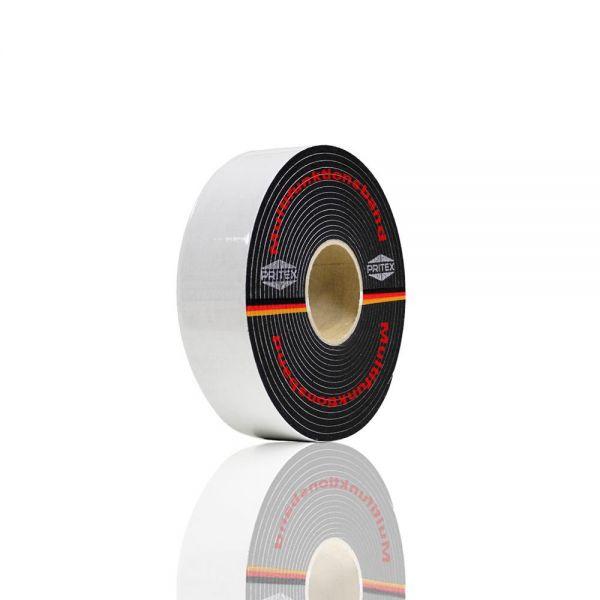 Kompriband 74mm Multifunktionsband 6-16mm Schwarz 8m Quellband